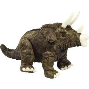 Medium Plush Triceratops