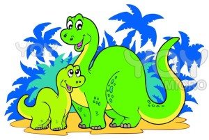 cartoon dinosaur clip art