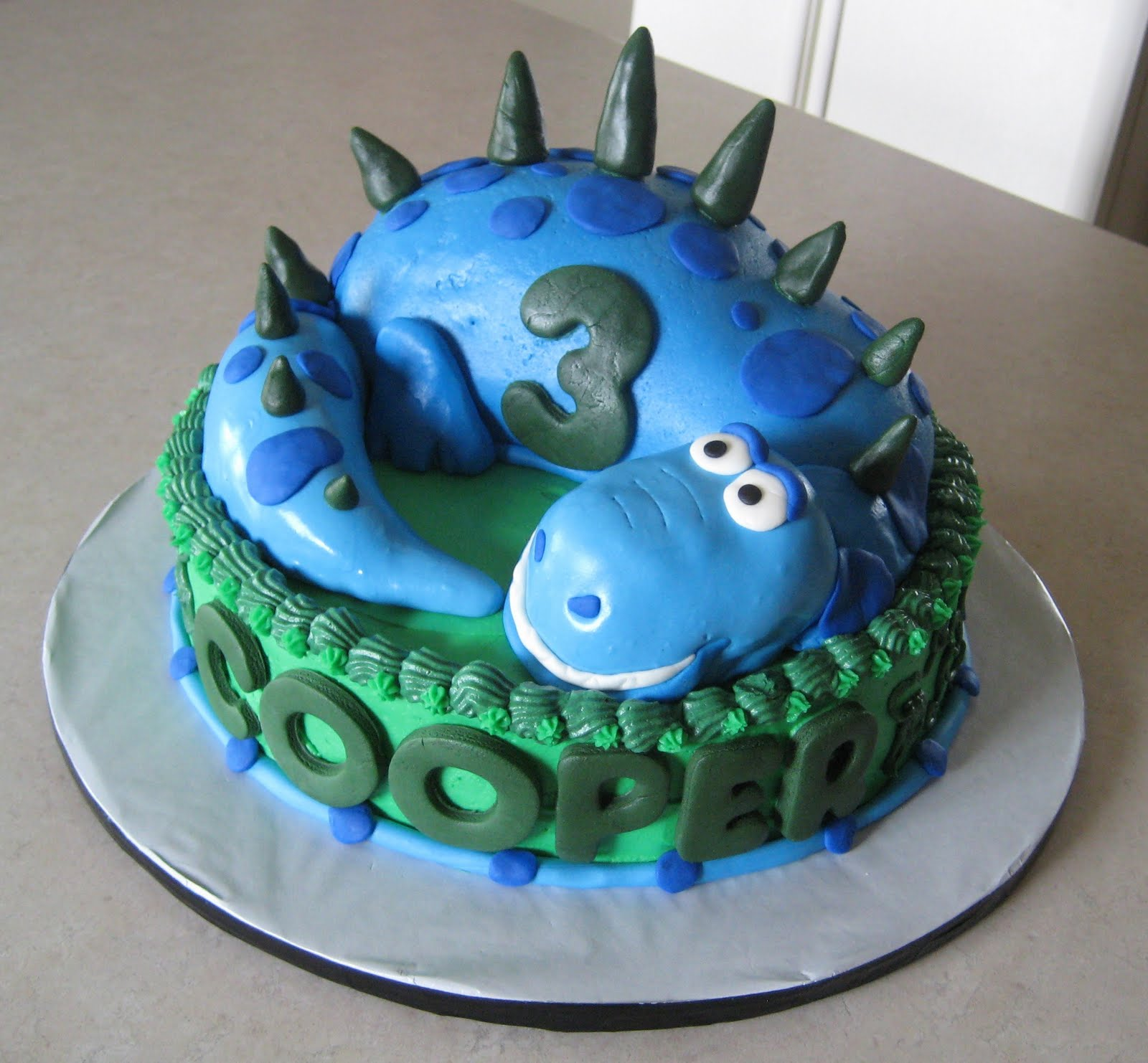 Kids Dinosaur Birthday Cake Ideas 12253 Awesome Dinosaur C