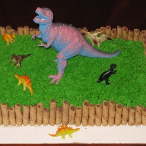 dinosaur cake decorations