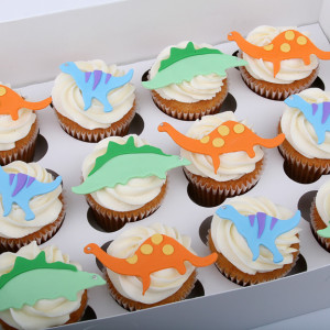 dinosaur cupcakes for kids