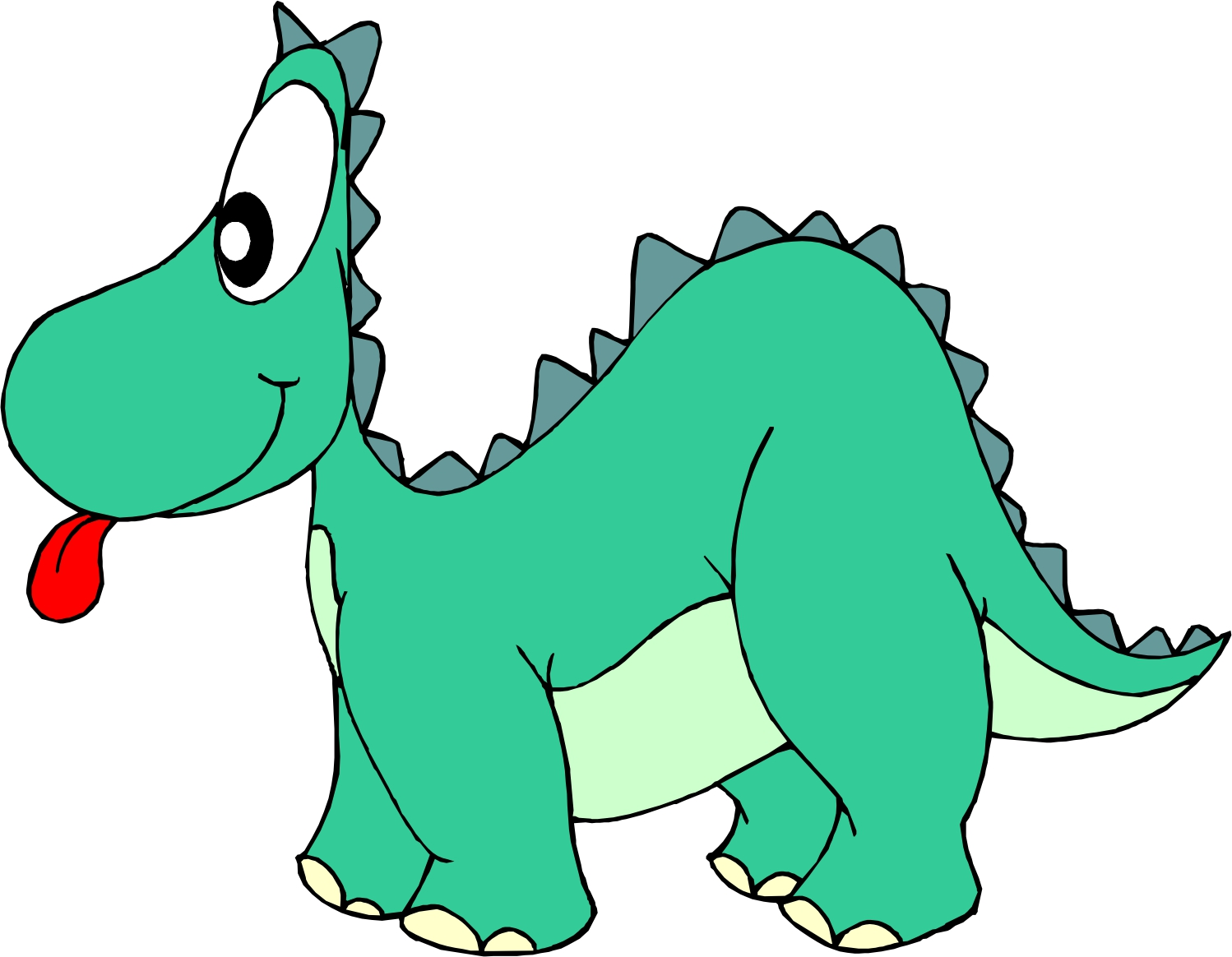 Cartoon Dinosaur Pictures - Brachiosaur