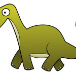 Cartoon Dinosaur Pictures – Brachiosaurs Green