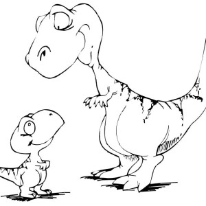 dinosaurs coloring pages printable
