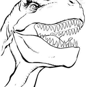 Tyrannosaurus Rex dinosaurs coloring pages
