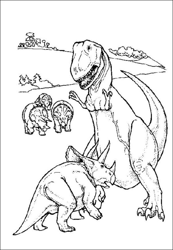 dinosaur facts and coloring pages - photo#4