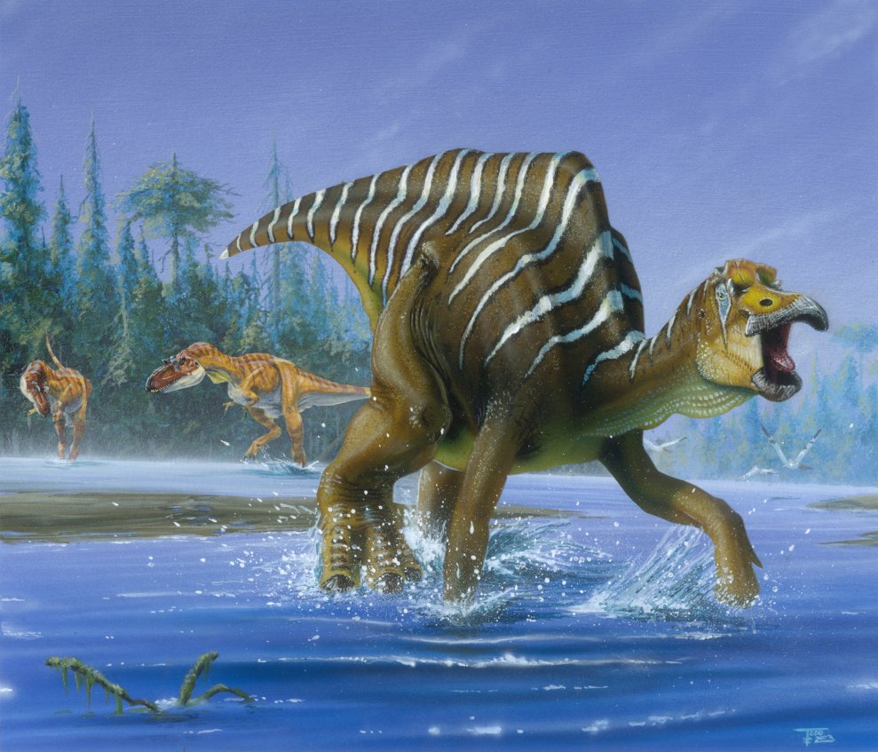 pictures of dinosaurs - Hadrosaurs