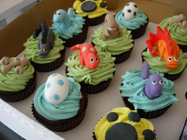 dinosaur cupcakes decorations