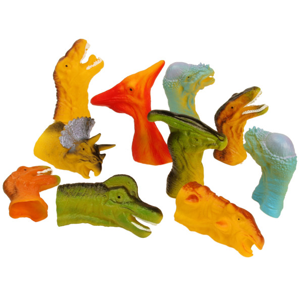 Dinosaur Finger Puppets for Toddlers