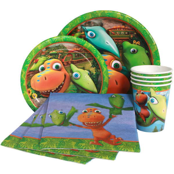 dinosaur train party plates