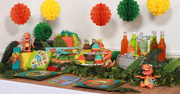dinosaur train party decorations