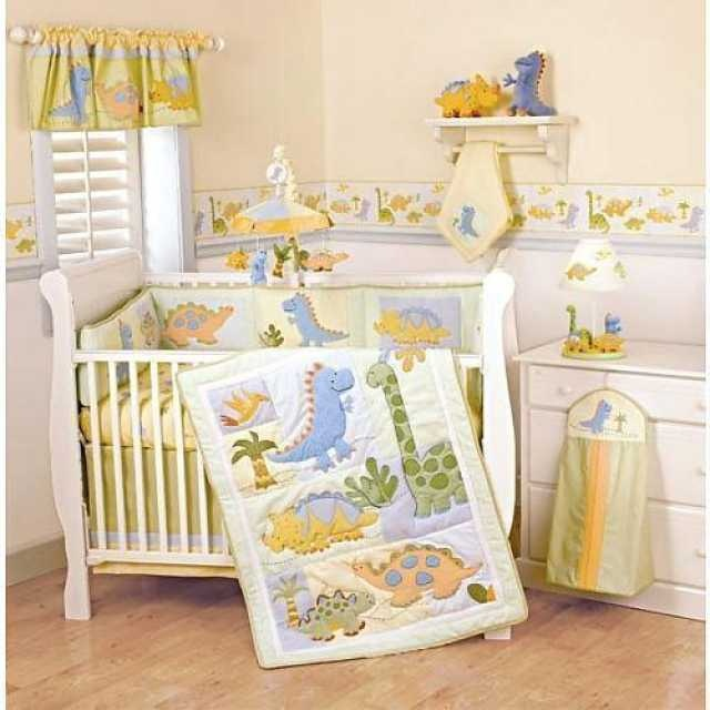 Dinosaur Bedding Nursery Decor