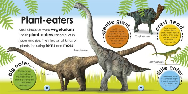 dinosaur information for preschoolers