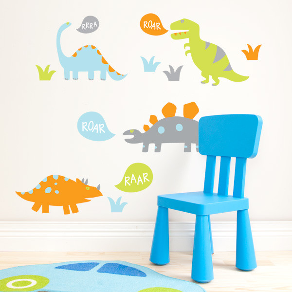 Dinosaur Wall Stickers Nursery