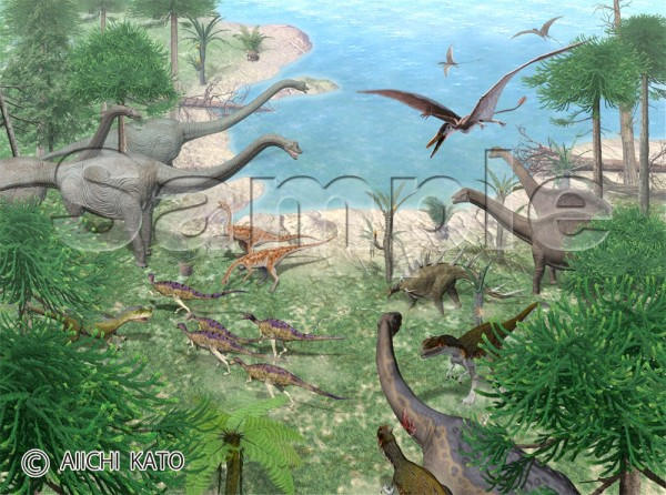 the real history of dinosaurs