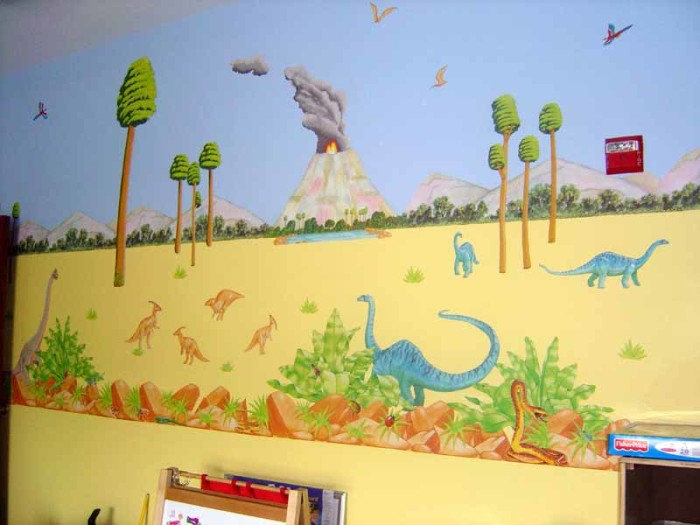 Funny Dinosaurs Room Ideas