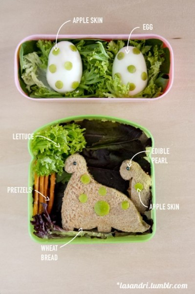 Dinosaur themed Bento :)