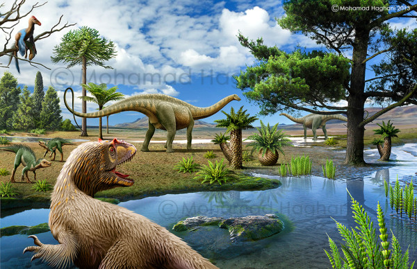 the history of dinosaurs timeline