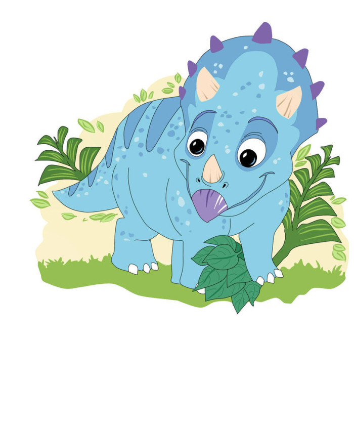 My cute Triceratops Picture