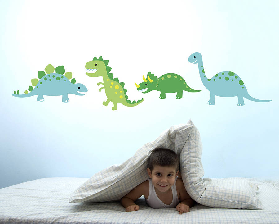 dinosaur pictures wall