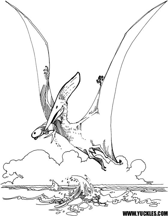 Pteranodon Coloring Pages