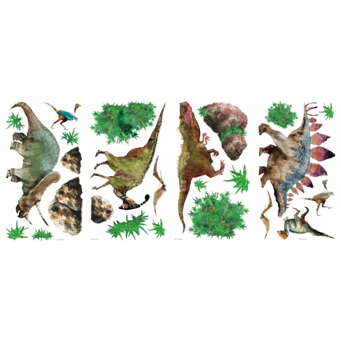 dinosaur wall graphics