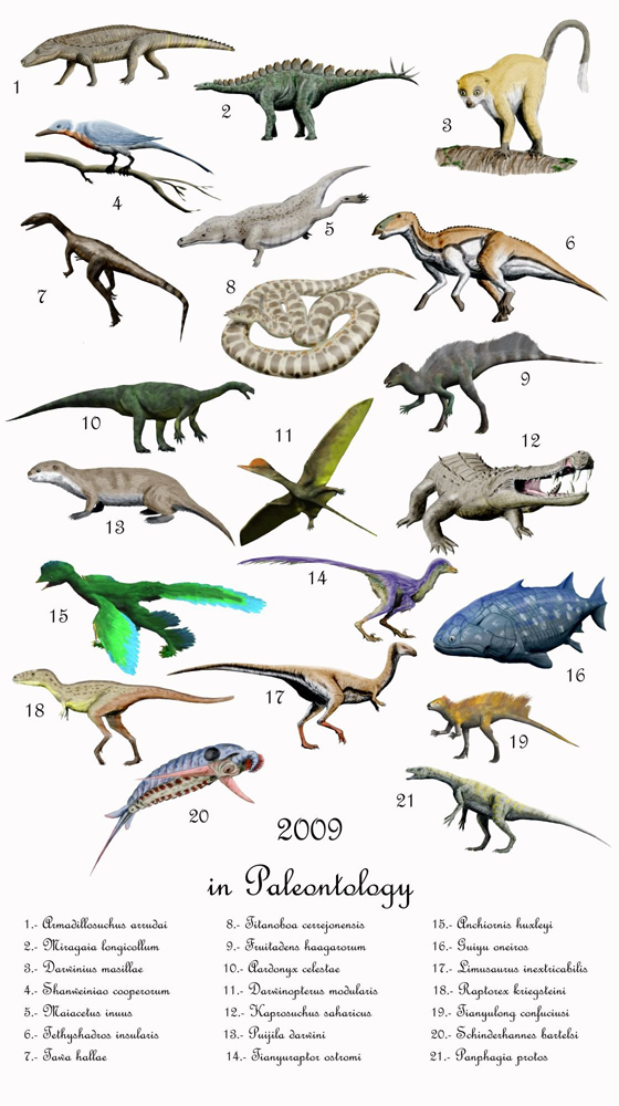 extinct species of dinosaurs