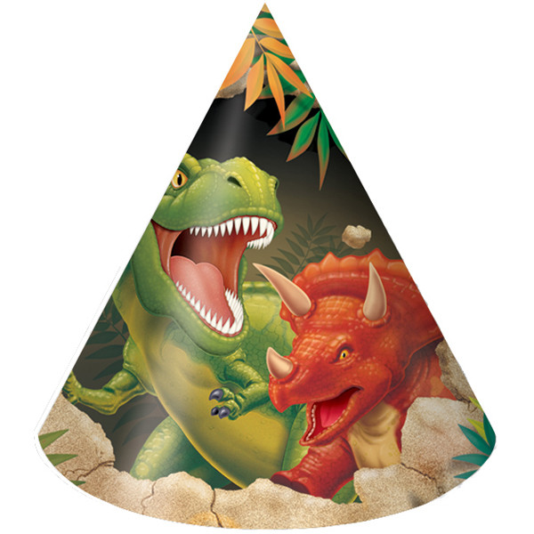dinosaur birthday party hats