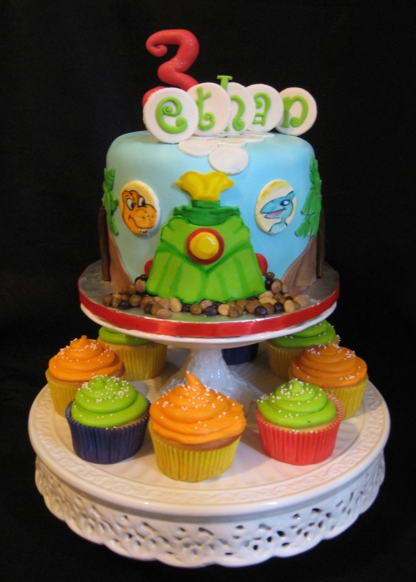 dinosaur train cake images