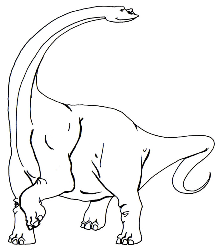 Argentinosaurus Printable Color Sheets