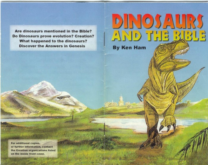 dinosaur reference in bible