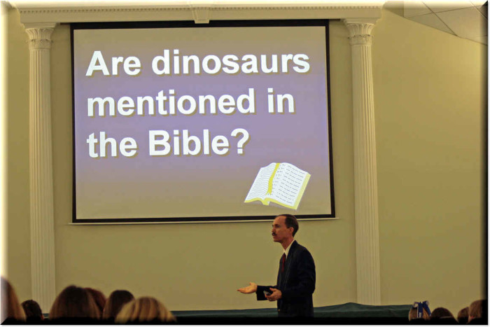 dinosaur in bible verse