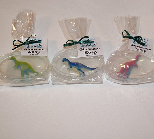 dinosaur soap craft