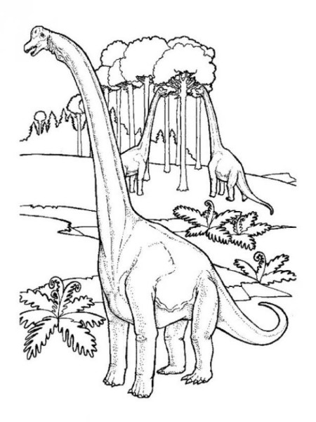 Printable Argentinosaurus Coloring Pages