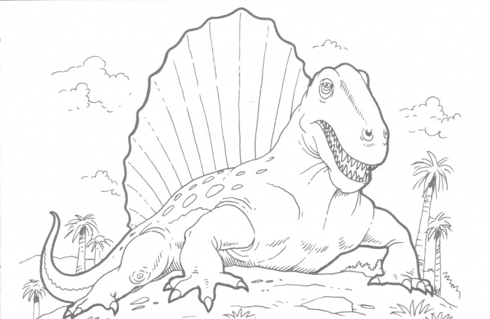Realistic Dinosaur Coloring Pages  Dinosaurs Pictures and Facts