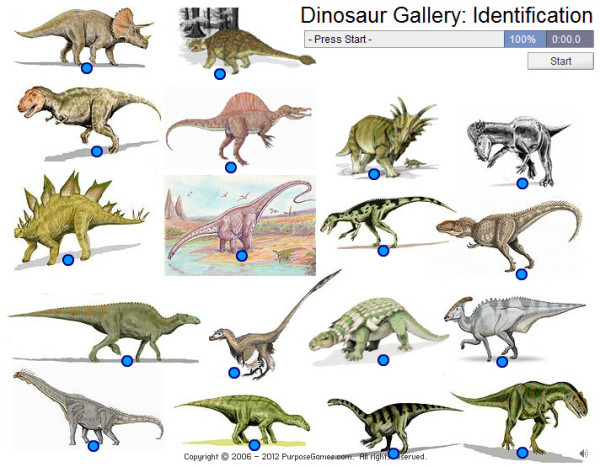 common dinosaurs with pictures