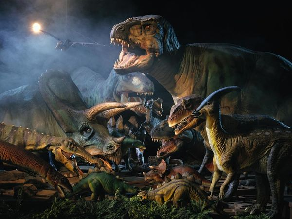 dinosaurs living in the cretaceous period