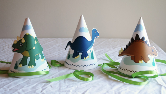 dinosaur train party hats