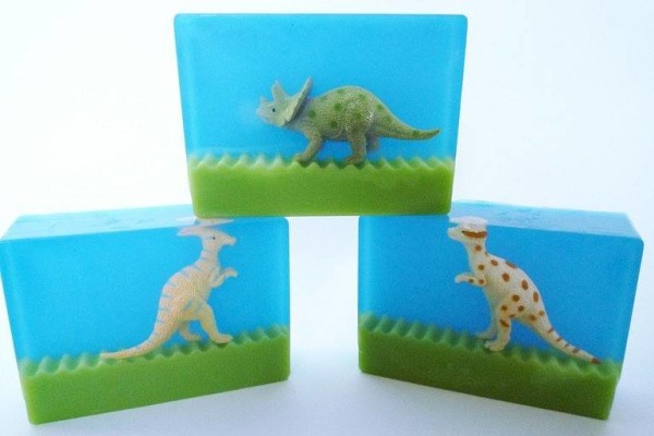 dinosaur soap mold