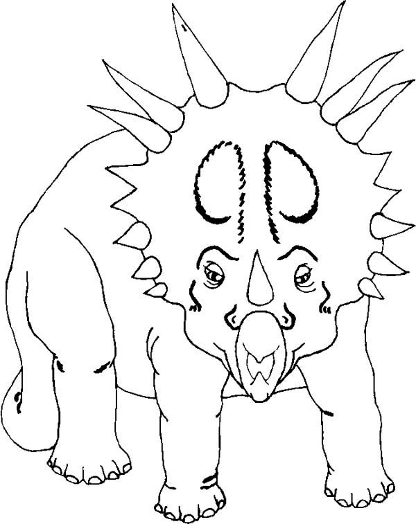 Centrosaurus Coloring Pages for Kids Free