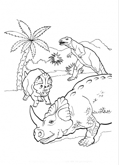 Centrosaurus Coloring Sheets