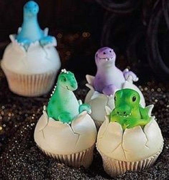 Dinosaur Cupcakes Toppers