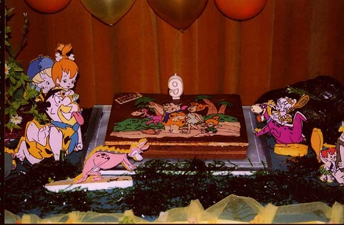 Flintstones birthday party ideas