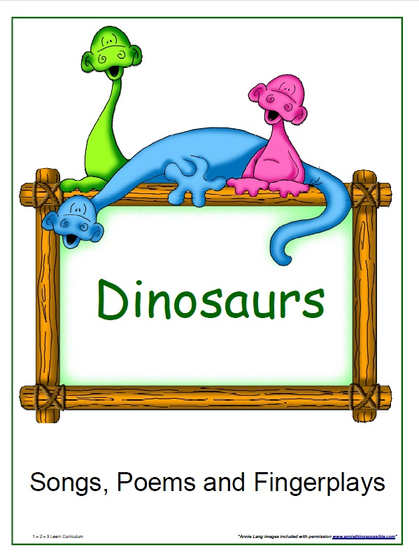 Free preschool dinosaur songs