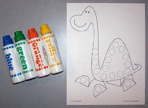 Preschool Dinosaur Worksheet