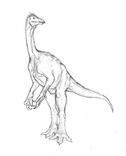 Free Utahraptor coloring pages