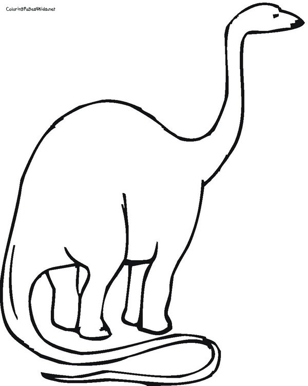 brontosaurus coloring pages - photo#27