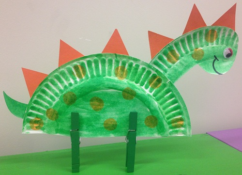 preschool crafts dinosaurs hat