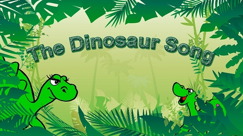preschool dinosaur songs and fingerplay