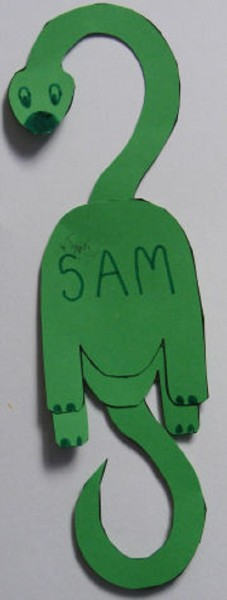 preschool crafts dinosaurs